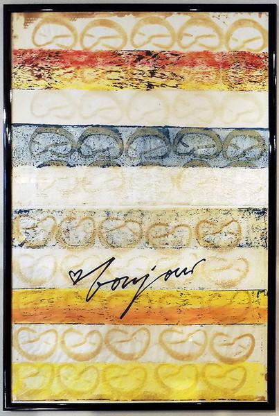 Unser Brezel-Backpapier wird zum Kunstwerk!